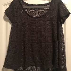 Gray blouse from American Eagle